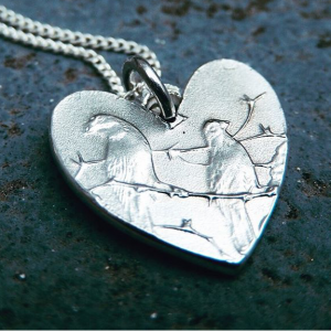 OneCentHeart Pendant – Sterling Silver