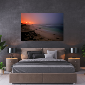 """Tranquil Moments"" A1 Size Stretched Canvas Print"