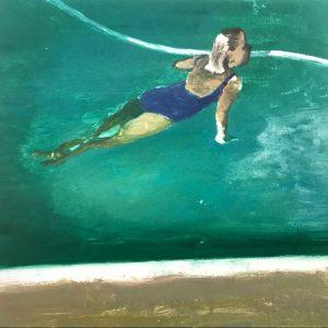 """Emerald pool lunge"" 2010"